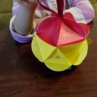 Мастер-класс по изготовлению игрушки «Дорожный знак на новогодней ёлке»