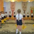 Сценарий музыкально— спортивного праздника для детей старшей группы с участием родителей «Осенний винегрет»