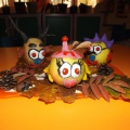 Поделка из картофеля и яблок на выставку «Осенние дары»