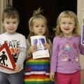 Фотоотчет о работе с родителями в клубе «Школа заботливых родителей» по теме «Маленькие уроки по ПДД для взрослых родителей»