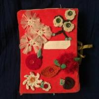 Дидактическое пособие «Времена года. Книжка из ткани»