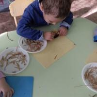 Конспект НОД по лепке с использованием природного материала «Ёжики» во второй младшей группе