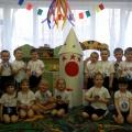 Праздничный досуг «Школа юных космонавтов» (старший дошкольный возраст)