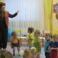 Развлечение во второй группе раннего возраста «Прощание с елочкой»