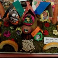 Фотоотчет об осеннем конкурсе «Сказочный домик»