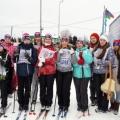 Участие во Всероссийской массовой лыжной гонке «Лыжня России 2017»