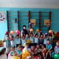 Спортивное развлечение в детском саду для детей средней группы «Путешествие в Спортландию» (мой весёлый, звонкий мяч)