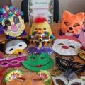 Новогодняя выставка «Карнавальные маски» (фотоотчет)