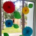 Мастер-класс по оформлению окон в детском саду в летне-оздоровительный период