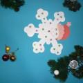 Мастер-класс поделки из бумаги «Снежинка»
