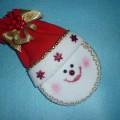 Мастер-класс поделки из флиса «Дед Мороз с сюрпризом»