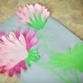Мастер-класс аппликация из цветных ладошек «Цветочно-весеннее настроение»