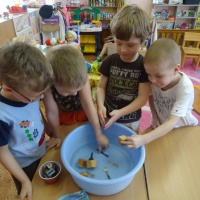 Конспект ООД по познавательно-речевому развитию в старшей группе для детей с ЗПР «Знакомство со свойствами материалов»