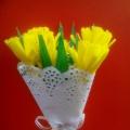 Мастер-класс «Букет цветов из цветной бумаги»