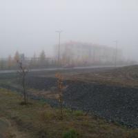 Фотоотчет «Наблюдение за туманом»