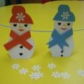 Мастер-класс «Снеговик, снеговик-ты такой хороший»