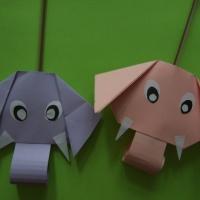 Мастер-класс по изготовлению бумажной игрушки «Слоник»