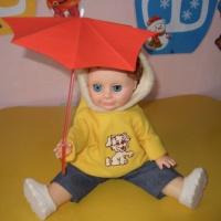 «Дождик с тучки кап, кап, кап». Конспект НОД по нетрадиционному рисованию для детей группы раннего возраста