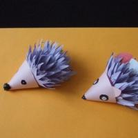 Мастер-класс по изготовлению игрушки из бумаги «Ёжик»
