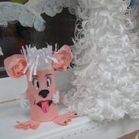 Мастер-класс по изготовлению игрушки «Собачка» из бросового материала