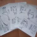 Мастер класс по изготовлению книжки-нескучалки «Генератор зверей» со старшими дошкольниками