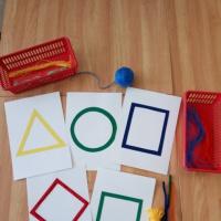 Игровые приемы для развития диалогической речи с использованием техники «ниткография»