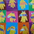 Фотоотчет о работах детей по художественному творчеству «Ладошки-осьминожки»