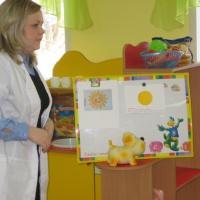 Конспект игрового занятия для детей младшего дошкольного возраста «Солнышко»