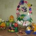 «Пасха» (отчёт о выставке совместного творчества родителей и детей)