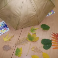 Мастер класс по изготовлению с детьми интерьерного украшения «Зонт для Осени»