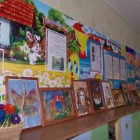 Фотоотчёт «Выставка совместного творчества детей с родителями «Кубанская осень»