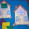 Дидактическая игра по ФИЗО «Найди свой домик»