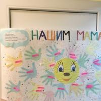 Коллективная открытка для мам к Дню матери