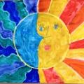 Конспект занятия по рисованию в подготовительной группе «День и ночь»