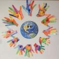Творчество детей к празднику «День защиты детей»
