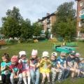 Фотоотчет о летнем развлечении «Веселая радуга»