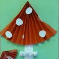 Поделка из бумаги «Мухомор— красивый гриб!»