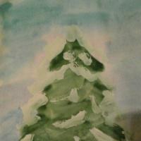 Конспект совместной деятельности с детьми 3–4 лет «Лесная красавица в снежном убранстве»