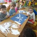 Мастер-класс панно «Белые цветы»