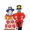 Мастер-класс «Декоративное рисование по мотивам дымковской росписи» для детей 6–7 лет
