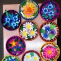 Мастер-класс. Подарок для любимых мам-декоративная тарелка с букетом цветов!