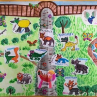 Коллективная работа «Зоопарк несуществующих животных»