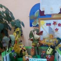 Выставка детских работ совместно с родителями «Сказка из овощей». Фотоотчет