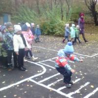 Фотоотчет о прогулке в детском саду