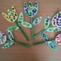 Мастер-класс «Аленький цветочек для любимой мамочки»