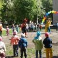 Фотоотчет о празднике на улице «День защиты детей»