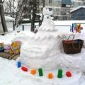 Чудеса из снега, или Как мы занимались раскопками