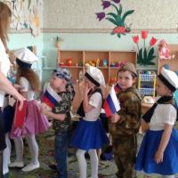 Фотоотчёт о праздновании Дня Победы в детском саду