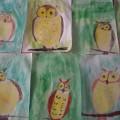 Мастер класс «Учимся рисовать сову»