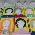 Творческие работы детей «Портрет моей мамы». Фотоотчет